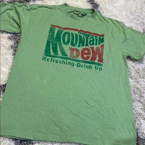 Savvy Mountain Dew Refreshing drink up T-shirt